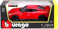 """Модель машины """"Bburago. Nissan GT-R 2017"""" (масштаб: 1/24)"""