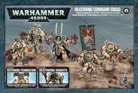 Warhammer 40.000. Dark Angels. Deathwing Command Squad (44-10)