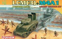 """Набор миниатюр """"LCM(3) Landing Craft & M4A1 w/Deep Wading Kit"""" (масштаб: 1/72)"""