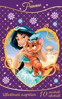"""Картон цветной """"Disney. Принцессы"""" (А4; 10 листов; 10 цветов)"""