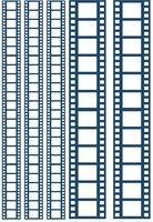 """Пленка-оверлей """"Кинопленка"""" (210х300 мм; синий)"""