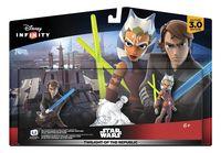 """Disney Infinity 3.0. Набор """"2+1"""". """"Звездные войны"""" (Асока Тано, Энакин Скайуокер, Локация """"Звездные войны"""")"""