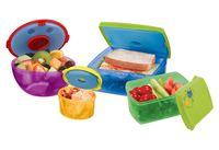 Набор контейнеров для продуктов с охлаждающим элементом (4 шт.)