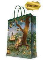 "Пакет бумажный подарочный ""Волшебные фонари"" (17,8х22,9х9,8 см; арт. 43509)"