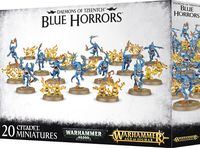 Warhammer Age of Sigmar. Daemons of Tzeentch. Blue Horros (97-30)