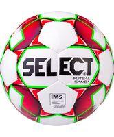 """Мяч футзальный Select """"Samba IMS"""" №4 (белый/красный/зелёный)"""