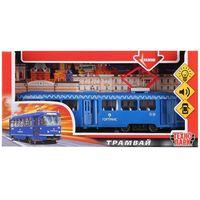 """Модель машины """"Трамвай"""" (со световыми и звуковыми эффектами; арт. CT12-428-2-BL)"""