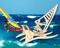 """Сборная деревянная модель"""" Яхтсмен"""""""