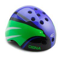 """Шлем велосипедный """"WT-025"""" (синий/зеленый/черный)"""