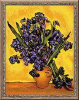 "Вышивка крестом ""Ван Гог. Ирисы"" (арт. 1087)"