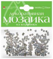 Мозаика декоративная из керамики №12 (4х4 мм; 200 шт.; серый)