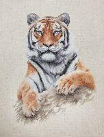 """Вышивка крестом """"Тигр"""" (170х225 мм)"""