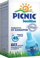 """Жидкость от комаров """"Picnic Sensitive. 45 ночей"""" (30 мл)"""