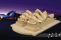 """Сборная деревянная модель """"Сиднейский оперный театр"""""""