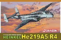 """Истребитель """"Heinkel He219A-5/R4"""" (масштаб: 1/72)"""