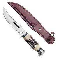Нож металлический разделочный в чехле (12,5 см, арт. 26011105)