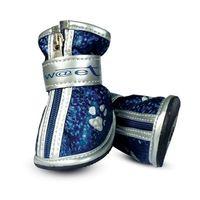 """Ботинки с """"лапками"""" (5,5х4,5х5,5 см; синие)"""