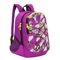 """Рюкзак """"Bees"""" (фиолетовый)"""