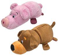 """Мягкая игрушка """"Вывернушка. Собака-свинья"""" (35 см)"""