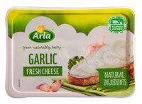 """Сыр мягкий """"Arla Natura. С чесноком и зеленью"""" (150 г)"""