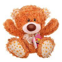 """Мягкая игрушка """"Медвежонок Ник рыжий"""" (34 см)"""