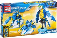 """Конструктор """"Space War. Космический попугай"""" (162 детали)"""