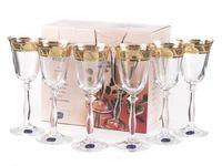 """Бокал для вина стеклянный """"Angela"""" (6 шт.; 185 мл; арт. 40600/378804/185)"""