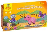 "Пластилин шариковый ""Приключения Енота"" (8 цветов)"