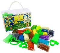 "Тесто для лепки ""Граф Жираф. Super Boy"" (17 цветов; арт. GG53)"