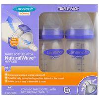 """Набор бутылочек для кормления """"Lansinoh. Natural Wavе"""" (240 мл.; 2 шт)"""