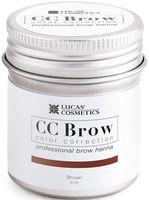 "Хна для бровей ""CC Brow. Баночка"" тон: brown"