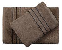 "Полотенце махровое ""Верона"" (70x140 см; темно-коричневое)"