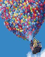 """Картина по номерам """"Разноцветные шары"""" (400х500 мм)"""