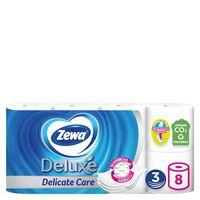 """Туалетная бумага """"Zewa Deluxe"""" (8 рулонов)"""