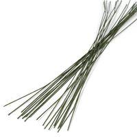 Проволока для керамической флористики №20 (300 мм; 20 шт; зеленый)