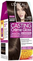 "Краска-уход для волос ""Casting Creme Gloss"" (тон: 400, каштановый)"