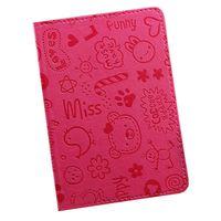 """Обложка для паспорта """"Happy Friends"""" (розовая)"""