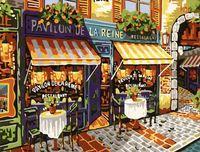 "Картина по номерам ""Уличный ресторан"" (400x500 мм; арт. MG139)"