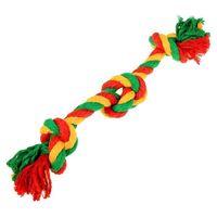 """Игрушка для собак """"Канатный грейфер. 3 узла"""" (33х1,4 см)"""