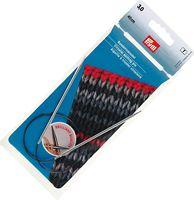 Спицы круговые для вязания (латунь; 3 мм; 40 см)