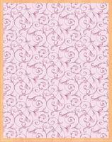 """Простыня хлопковая """"Завитки розовые"""" (220х145 см)"""