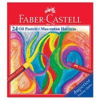 Масляная пастель Faber-Castell в картонной коробке (24 цвета)