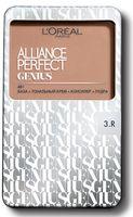 """Тональное средство для лица """"Alliance Perfect Genius 4в1"""" (тон: 3R, бежево-розовый)"""