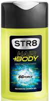 "Гель для душа 2в1 ""Str8 hair and body. 6g force"" (250 мл)"