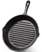 Сковорода-гриль чугунная, 20 см