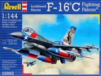 """Сборная модель """"Истребитель F-16 C Fighting Falcon"""" (масштаб: 1/144)"""