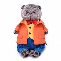 """Мягкая игрушка """"Басик в оранжевом пиджаке"""" (22 см)"""