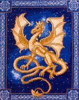 """Вышивка крестом """"Небесный дракон"""""""
