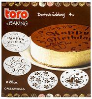 Набор трафаретов для торта (4 шт.)