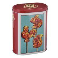 "Банка для сыпучих продуктов ""Петушки"" (1700 мл, арт. 37655)"